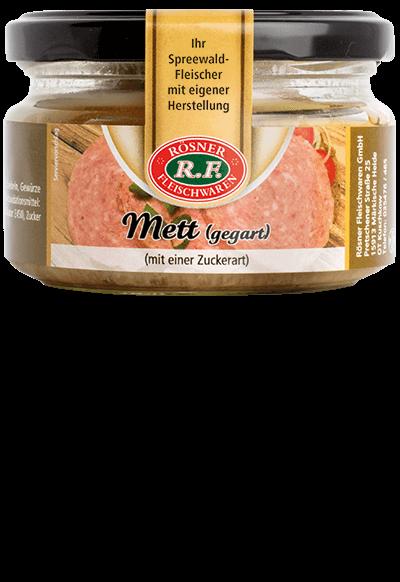 Mett (gegart)